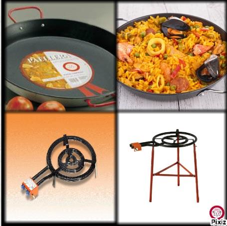 kit paella anti adh rent pour 20 personnes. Black Bedroom Furniture Sets. Home Design Ideas