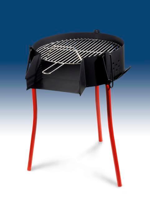 barbecue gaz charbon et bois garcima 40cm. Black Bedroom Furniture Sets. Home Design Ideas