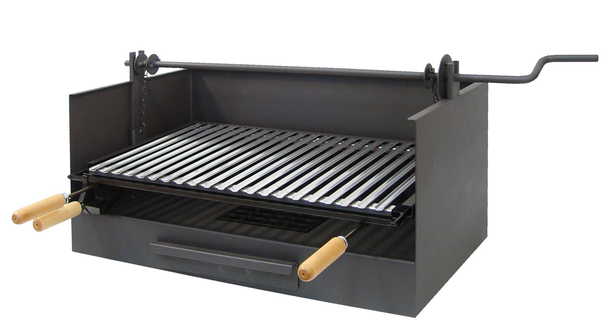 barbecue poser en fonte barbecue charbon de bois. Black Bedroom Furniture Sets. Home Design Ideas