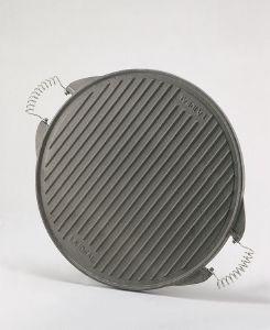 Plancha ronde en fonte ou plaque rectangulaire garcima - Ustensile pour plancha fonte emaillee ...