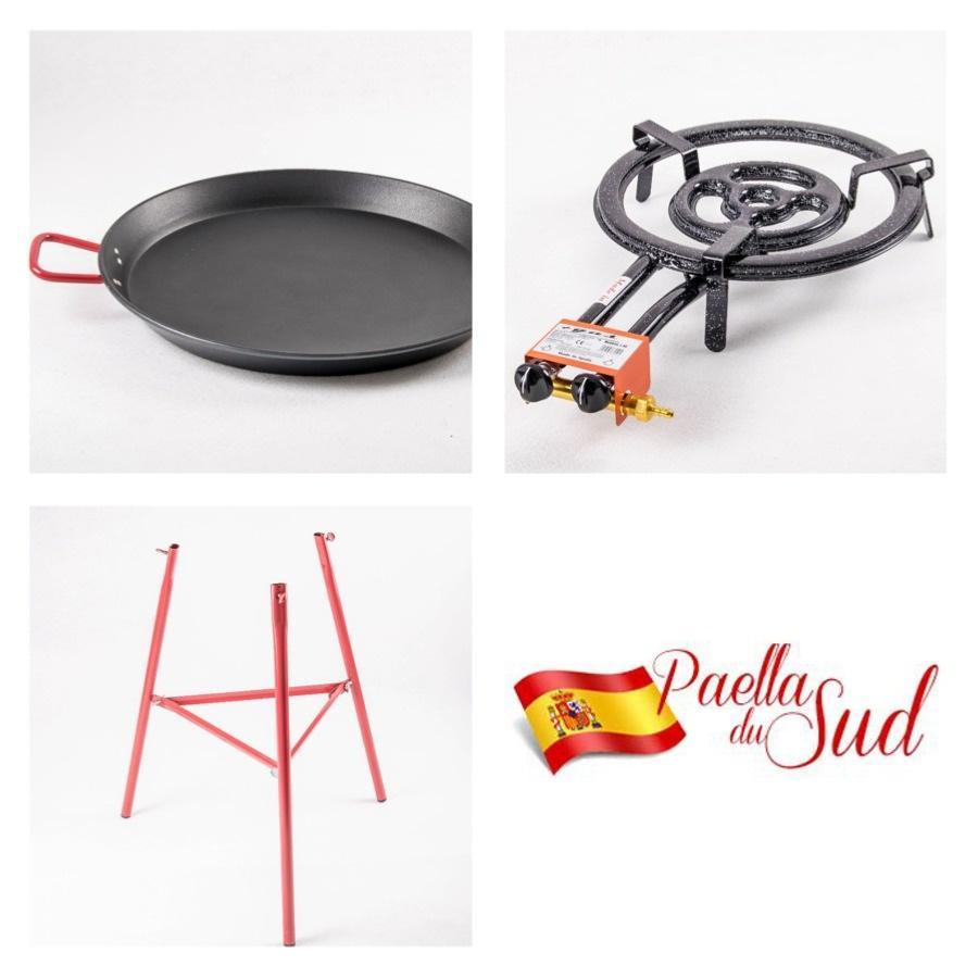 Préparer Un Barbecue Pour 20 Personnes kit à paella pro anti-adhérent pour 20 personnes