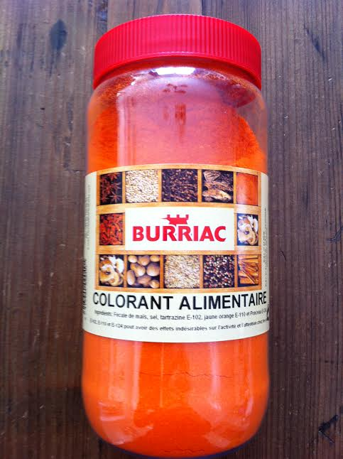Colorant alimentaire Burriac 500g