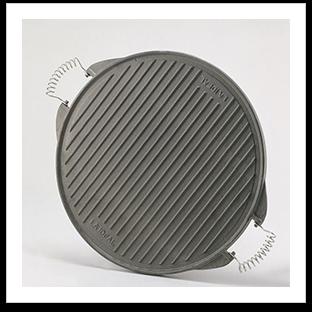 plancha ronde en fonte ou plaque rectangulaire garcima. Black Bedroom Furniture Sets. Home Design Ideas